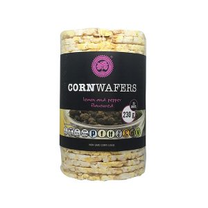 Corn Wafers Lemon and Pepper
