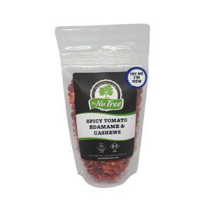 Spicy Tomato Edamame & Cashews - 100g