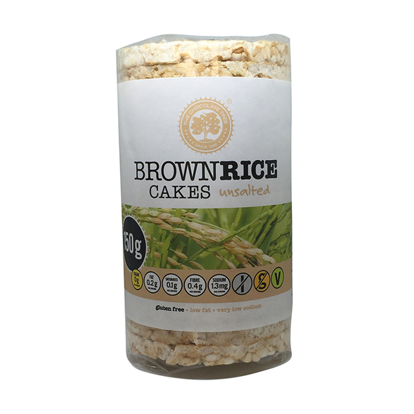 Brown Rice Cakes Unsalted