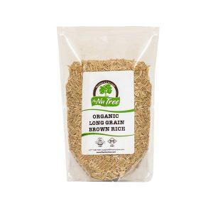 Long Grain Brown Rice Organic 500g