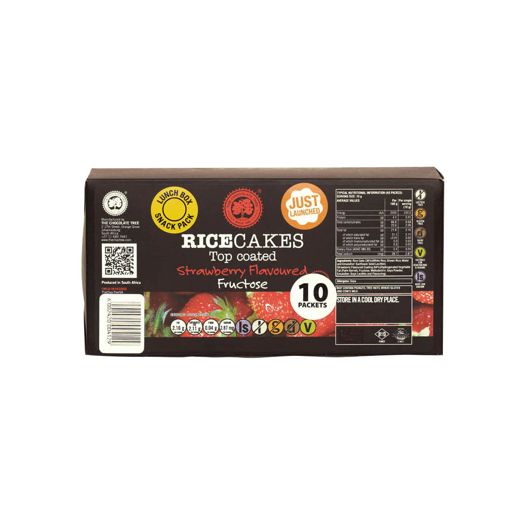 Top Coated Strawberry Snack pack