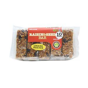 Sucrose Raisin & Seed Snack Pack