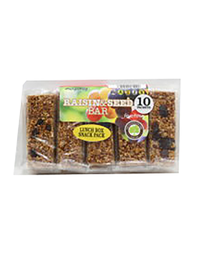 Fructose Raisin and Seed Snack Pack