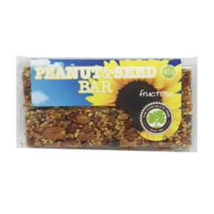 Fructose Peanut and Seed Bar