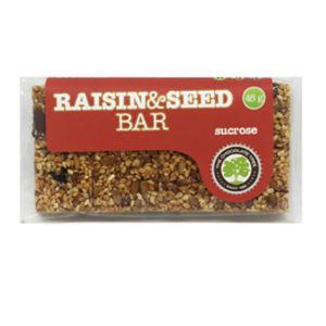 Sucrose Raisin and Seed Bar