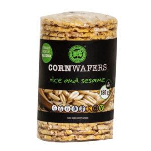 Rice & Sesame Corn Wafers